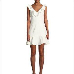 Harlow sleeveless ruffle mini dress
